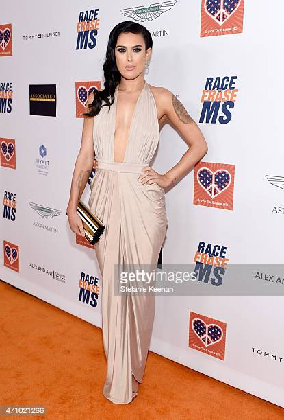 Actress Rumer Willis attends the 22nd Annual Race To Erase MS Event at the Hyatt Regency Century Plaza on April 24 2015 in Century City California