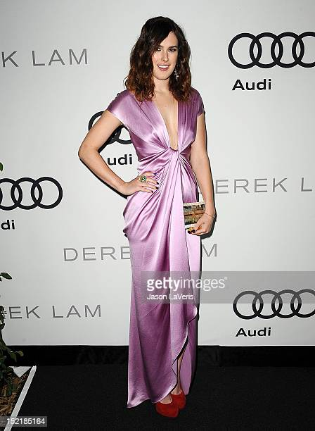 Actress Rumer Willis attends the Audi and Derek Lam kick off of Emmy week 2012 at Cecconi's Restaurant on September 16 2012 in Los Angeles California