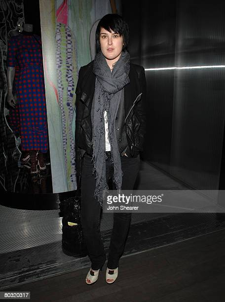 Actress Rumer Willis attends the Los Angeles screening of Trembled Blossoms presented by Prada on March 19 2008 in Beverly Hills California