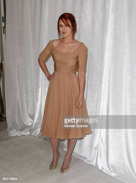 Actress Rumor Willis attends the 8th Annual Awards Season Diamond Fashion Show Preview hosted by the Diamond Information Center and InStyle held at...