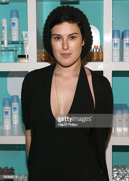 Actress Rumor Willis with CVS at the Access Hollywood Stuff You Must Lounge Presented by On 3 Productions at Sofitel Hotel on January 11 2008 in...