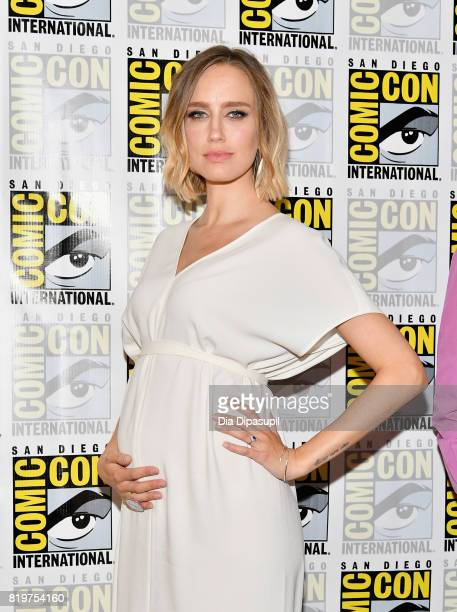Actress Ruta Gedmintas at 'The Strain' press line at Hilton Bayfront during ComicCon International 2017 on July 20 2017 in San Diego California