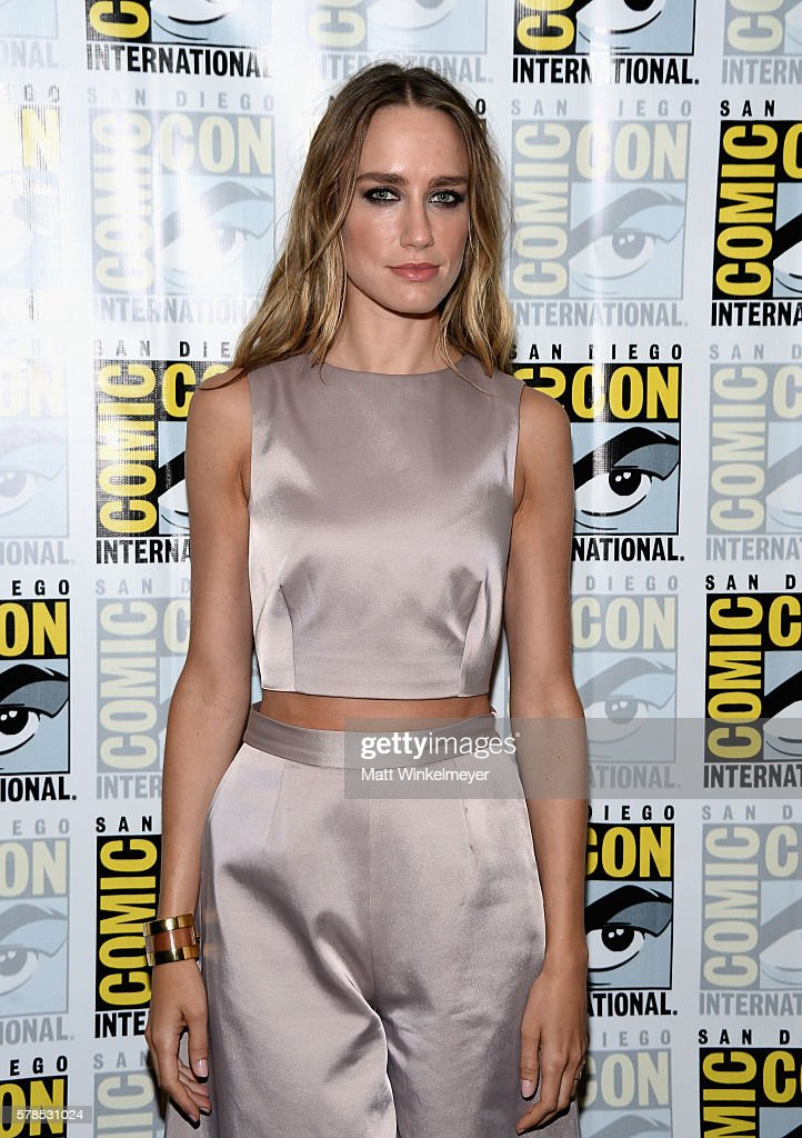 Actress Ruta Gedmintas attends FX's 'The Strain' press line during Comic-Con International 2016 at Hilton Bayfront on July 21, 2016 in San Diego, California. at Hilton Bayfront on July 21, 2016 in San Diego, California.