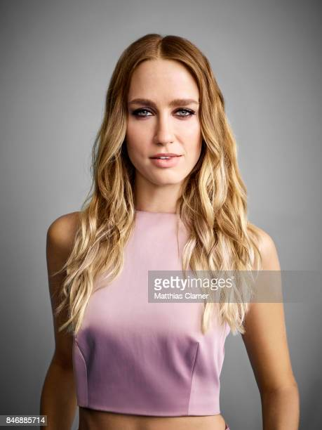 Actress Ruta Gedmintas from 'The Strain' is photographed for Entertainment Weekly Magazine on July 21 2016 at Comic Con in the Hard Rock Hotel in San...