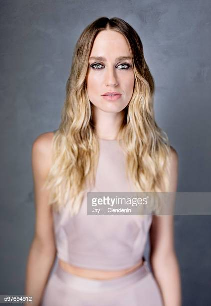 Actress Ruta Gedmintas of FX's 'The Strain' is photographed for Los Angeles Times at San Diego Comic Con on July 22 2016 in San Diego California