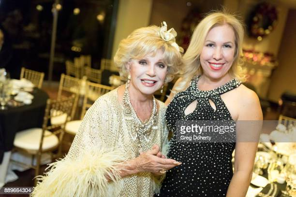 Actress Ruta Lee and Diva Naparette attend The Thalians Hollywood for Mental Health Holiday Party 2017 at the Bel Air Country Club on December 09...