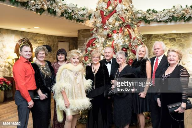 Actress Ruta Lee and her Lithuanian Guests attend The Thalians Hollywood for Mental Health Holiday Party 2017 at the Bel Air Country Club on December...