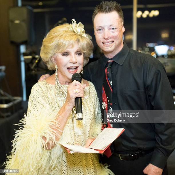 Actress Ruta Lee and Joey Paulk attend The Thalians Hollywood for Mental Health Holiday Party 2017 at the Bel Air Country Club on December 09 2017 in...