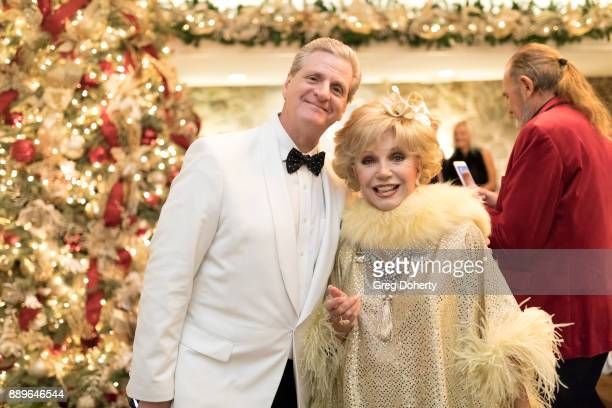 Actress Ruta Lee and Roger Neal attend The Thalians Hollywood for Mental Health Holiday Party 2017 at the Bel Air Country Club on December 09 2017 in...