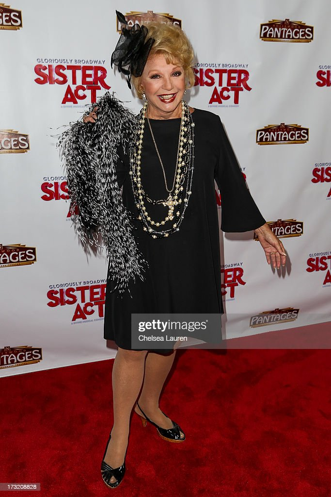 Actress Ruta Lee arrives at the 'Sister Act' opening night premiere at the Pantages Theatre on July 9, 2013 in Hollywood, California.