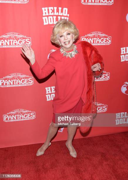 Actress Ruta Lee attends the Los Angeles premiere of the musical Hello Dolly at the Pantages Theatre on January 30 2019 in Hollywood California