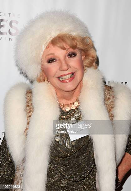 Actress Ruta Lee attends the opening night of 'West Side Story' at the Pantages Theatre on December 1 2010 in Hollywood California