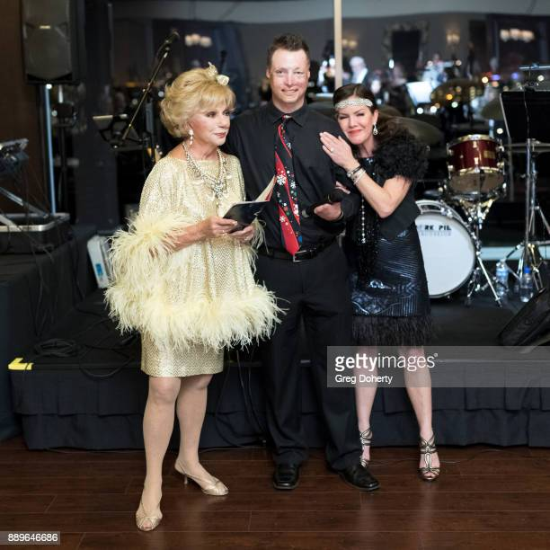 Actress Ruta Lee Jeoy Paulk and Actress Kira Reed Lorsch attend The Thalians Hollywood for Mental Health Holiday Party 2017 at the Bel Air Country...