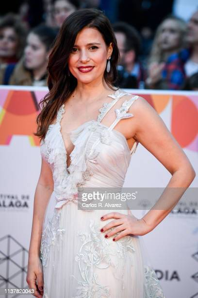Actress Ruth Armas attends the Malaga Film Festival 2019 closing day gala at Cervantes Theater on March 23 2019 in Malaga Spain