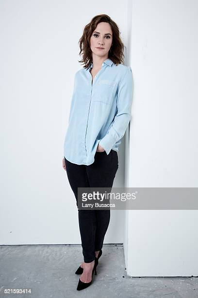 Actress Ruth Bradley from 'Holidays' poses at the Tribeca Film Festival Getty Images Studio on April 15 2016 in New York City