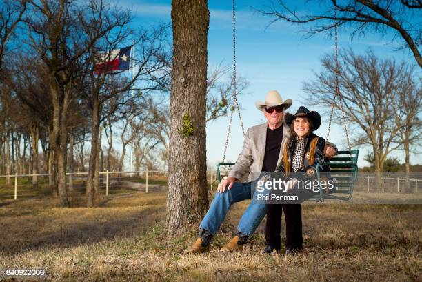 Actress Ruth Buzzi and husband Kent Perkins are photographed for Closer Weekly Magazine on January 23 2016 at home in Texas