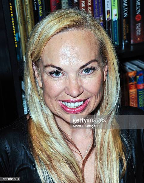 Actress Ruth Collins at the Second Annual David DeCoteau's Day Of The Scream Queens held at Dark Delicacies Bookstore on January 25, 2015 in Burbank,...