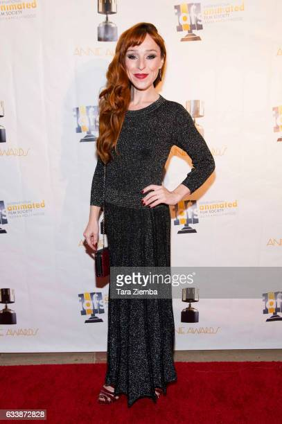 Actress Ruth Connell arrives to the 44th Annual Annie Awards at Royce Hall on February 4 2017 in Los Angeles California