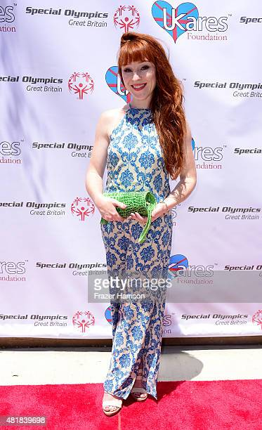 Actress Ruth Connell attends the British Consul General LA Garden Party Welcomes The 2015 Special Olympics World Games Great Britain Team at The...