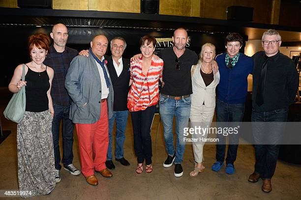 Actress Ruth Connell Director Gavin Bowden Producer Nigel DalyOBE Fine Arts gallery ownerJack Rutberg director Louise Salter actor Andrew Howard Mary...