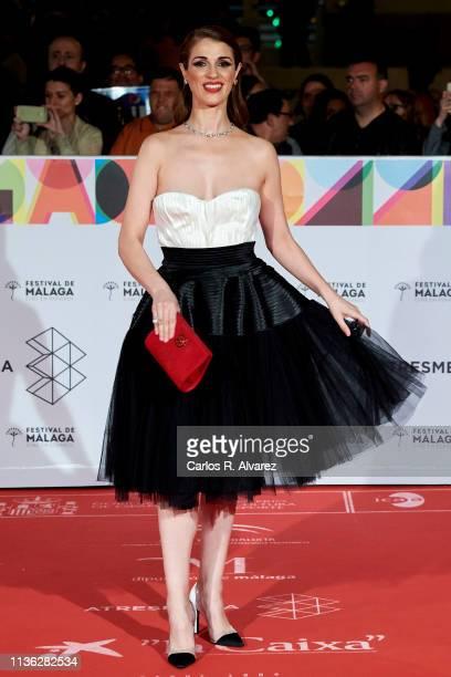 Actress Ruth Gabriel attends 'Esto no es Berlin' premiere during the 22th Malaga Film Festival on March 16 2019 in Malaga Spain