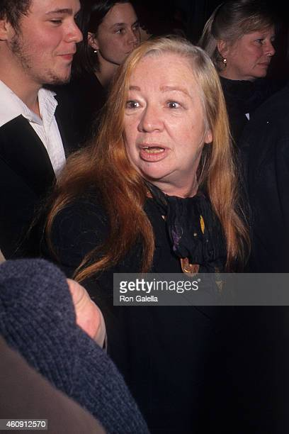 """Actress Ruth Maleczech attends """"The Crucible"""" New York City Premiere on November 25, 1996 at the Gotham Cinemas in New York City."""