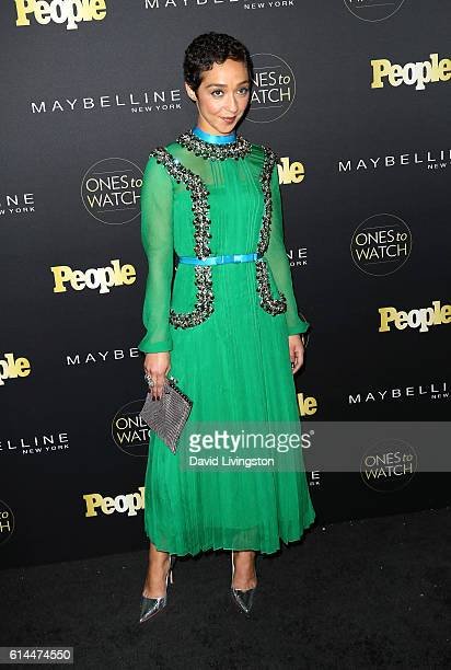 Actress Ruth Negga arrives at People's 'Ones to Watch' at EP LP on October 13 2016 in West Hollywood California