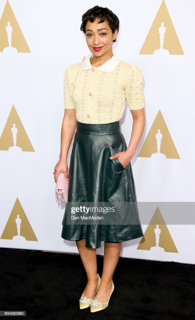 Actress Ruth Negga arrives at the 89th Annual Academy Awards Nominee Luncheon at The Beverly Hilton Hotel on February 6, 2017 in Beverly Hills, California.