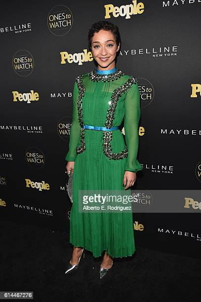 Actress Ruth Negga attends People's Ones to Watch event presented by Maybelline New York at EP LP on October 13 2016 in Hollywood California