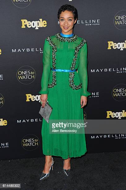 Actress Ruth Negga attends People's Ones To Watch party at EP LP on October 13 2016 in West Hollywood California