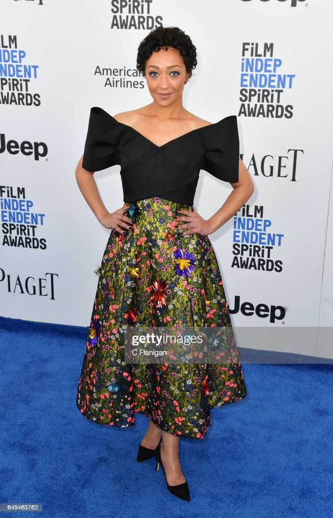 Actress Ruth Negga attends the 2017 Film Independent Spirit Awards at the Santa Monica Pier on February 25, 2017 in Santa Monica, California.