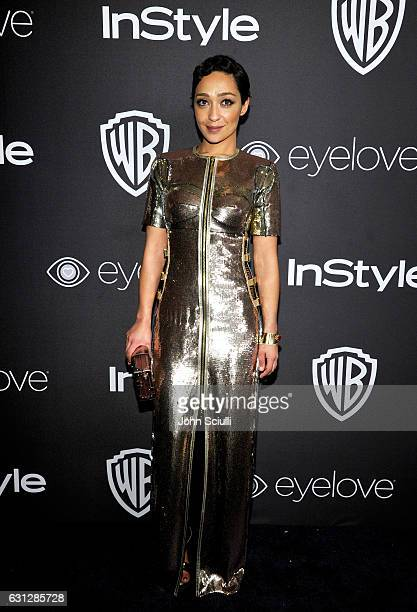 Actress Ruth Negga attends The 2017 InStyle and Warner Bros 73rd Annual Golden Globe Awards PostParty at The Beverly Hilton Hotel on January 8 2017...