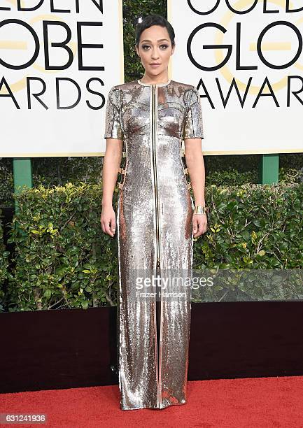 Actress Ruth Negga attends the 74th Annual Golden Globe Awards at The Beverly Hilton Hotel on January 8 2017 in Beverly Hills California