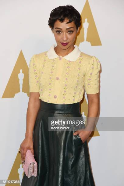 Actress Ruth Negga attends the 89th Annual Academy Awards Nominee Luncheon at The Beverly Hilton Hotel on February 6 2017 in Beverly Hills California