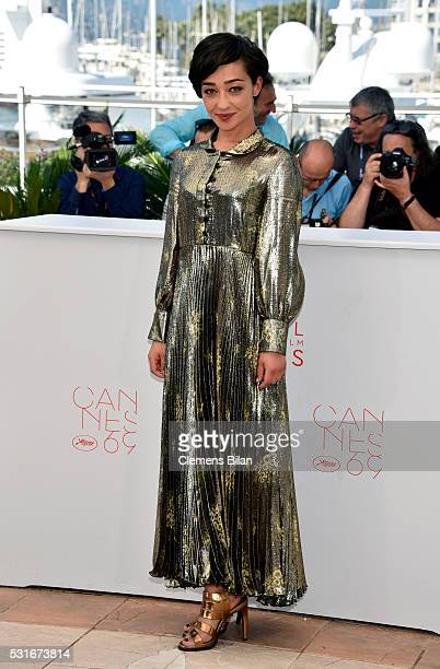 Actress Ruth Negga attends the 'Loving' photocall during the 69th annual Cannes Film Festival at the Palais des Festivals on May 16 2016 in Cannes...