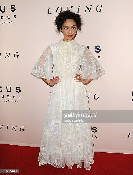 Actress Ruth Negga attends the premiere of 'Loving' at Samuel Goldwyn Theater on October 20 2016 in Beverly Hills California