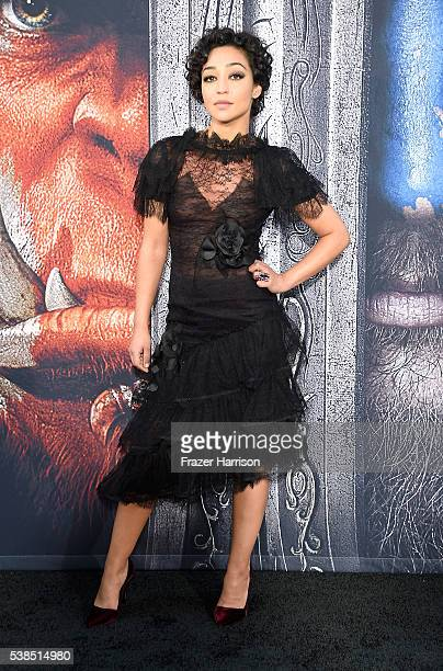 Actress Ruth Negga attends the premiere of Universal Pictures' 'Warcraft at TCL Chinese Theatre IMAX on June 6 2016 at TCL Chinese Theatre IMAX on...