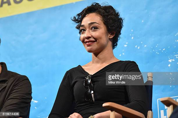 Actress Ruth Negga attends the screening of Preacher during the 2016 SXSW Music Film Interactive Festival at Paramount Theatre on March 14 2016 in...