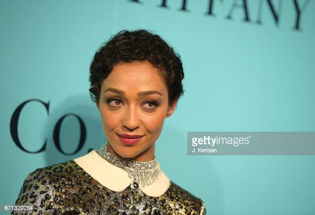 Actress Ruth Negga attends the Tiffany Co 2017 Blue Book Collection Gala at St Ann's Warehouse on April 21 2017 in New York City