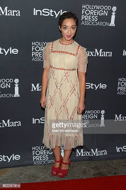Actress Ruth Negga attends the TIFF/InStyle/HFPA Party during the 2016 Toronto International Film Festival at Windsor Arms Hotel on September 10 2016...