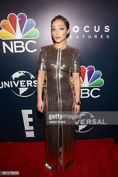 Actress Ruth Negga attends the Universal NBC Focus Features E Entertainment Golden Globes after party sponsored by Chrysler on January 8 2017 in...