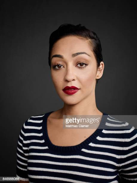 Actress Ruth Negga from 'Preacher' is photographed for Entertainment Weekly Magazine on July 22 2016 at Comic Con in the Hard Rock Hotel in San Diego...