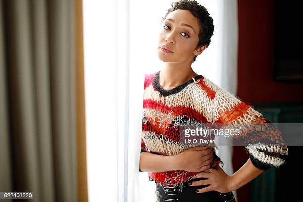 Actress Ruth Negga is photographed for Los Angeles Times on October 18 2016 in Los Angeles California PUBLISHED IMAGE CREDIT MUST READ Liz O...