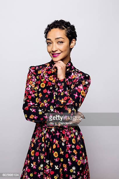 Actress Ruth Negga of 'Loving' poses for a portraits at the Toronto International Film Festival for Los Angeles Times on September 10 2016 in Toronto...