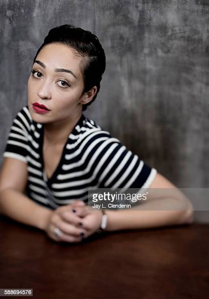 Actress Ruth Negga of 'Preacher' is photographed for Los Angeles Times at San Diego Comic Con on July 22 2016 in San Diego California
