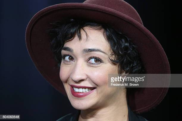 Actress Ruth Negga speaks onstage during the Preacher panel as part of the AMC Networks portion of This is Cable 2016 Television Critics Association...