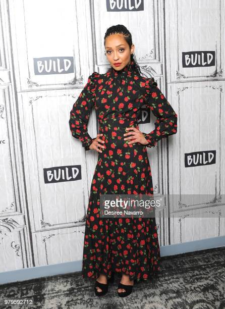 Actress Ruth Negga visits Build series to discuss 'Preacher' at Build Studio on June 20 2018 in New York City