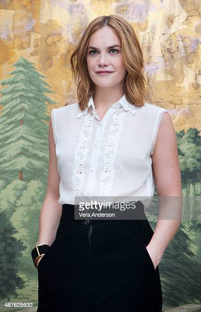 Actress Ruth Wilso is photographed at 'The Affair' Press Conference at The London Hotel on July 25 2015 in New York City