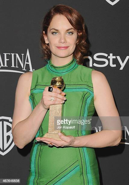 Actress Ruth Wilson arrives at the 16th Annual Warner Bros And InStyle PostGolden Globe Party at The Beverly Hilton Hotel on January 11 2015 in...