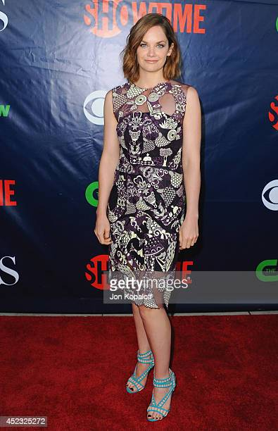 Actress Ruth Wilson arrives at the CBS The CW Showtime CBS Television Distribution 2014 Television Critics Association Summer Press Tour at Pacific...